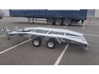 NEW Car Transporter Trailer Recovery Flat bed 2700kg GVW 4.0 m long £2000 inc VAT
