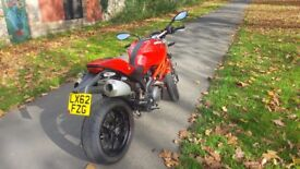Ducati Monster 796 RED in perfect condition