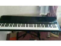 Yamaha pf80 keyboard with stand