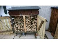 Used log store