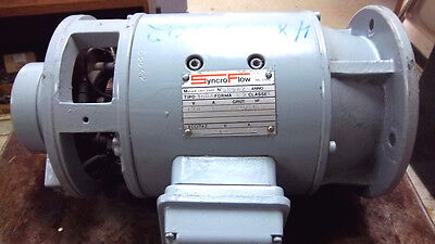 Syncro Flow Electric Motor 58542 Used 58542