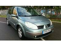 Renault grand scenic 7seater auto 2005 long mot