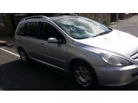 Peugeot 307 sw HDI diesel 1.6 very economical 7 seater