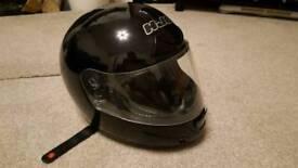 HJC Motorbike Helmet - hardly used