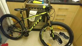 Scott Scale 970 hardtail mountain bike (small adult frame)