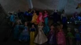 Huge barbie/Disney Princess bundle. Over £400'S worth