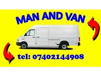 MAN AND VAN LWB REMOVAL,DELIVERY HAIR SERVICE 7/24 £20 UXBRIDGE,HILLINGDON ,HARROW
