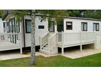 Static Caravan with private Course fishing lakes