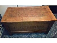 Wooden Kist / Blanket Chest - Hardwood
