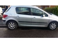 PEUGEOT 307 AUTOMATIC FOR SALE