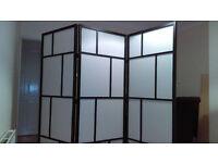 Ikea 3 panel room divider/screen