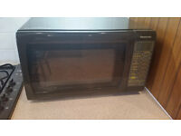 Panasonic Combination Microwave Oven (brown)