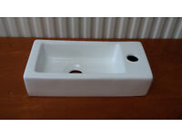 Small, Wall Hung Bathroom or Cloakroom Sink - New in Box