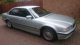 BMW 728i Auto MSport, Petrol+LPG , e38, Full leather sport seats, Private Plates!
