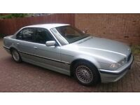 BMW 728i Auto MSport, Petrol+LPG , e38, Full leather sport seats, Private Plates!