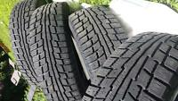 4 Winter Tires 195/65 R15 T95