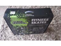 Brand new great fitnes skates!! size 8