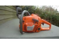 Husqvarna 350 powerful chainsaw