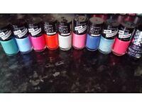 Brand new!!! Bargain nail varnishes