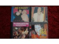 Sid vicious cds x4