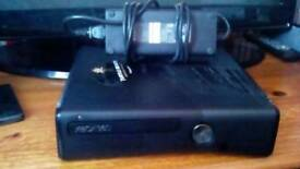 Xbox 360 Slim 250gb With Power Cable And A HDMI Cable