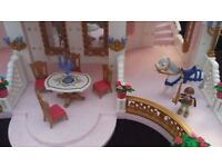 Playmobil magic castle with figures