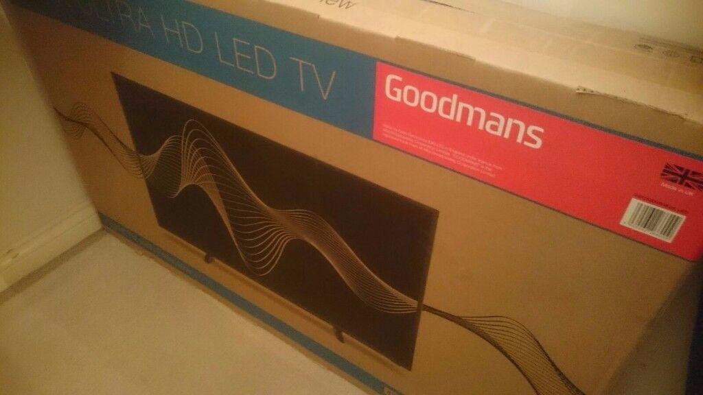 "Goodmans 42"" 4K Ultra HD LED TV"