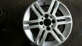 FIAT PANDA 4X4 ALLOY WHEEL AND TYRE