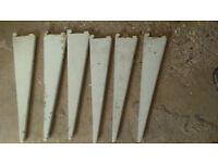 Spur Twin Slot Wall Shelf Brackets
