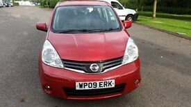 Nissan Note ACENTA DCI 86 (1.5) Diesel, Full Service History, 1 Owner, One Year MOT