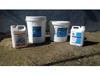SWIMMING POOL CHEMICALS SURPLUS TO REQUIREMENT