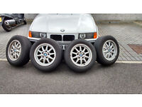 """15"""" BMW Alloy Wheels and Tyres"""