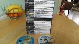 PS2 games joblot
