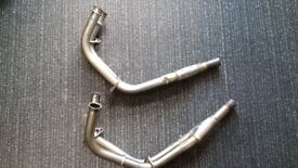 Motad stainless front exhaust downpipes 4 into 2