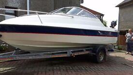 2006 Bayliner 192 Cuddy regularly serviced with receipts Low running hours