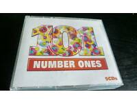 101 NUMBER ONE HITS.5 CDS BOX SET.