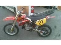 Honda cr80 for sale or swap not kx rm ktm