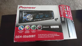 Pioneer DEH-X5600BTRDS - Brand New Unused