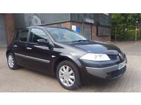 2008 {57 REG} RENAULT MEGANE 1.6 AUTOMATIC IN TOP CONDITION. 1 YEAR MOT. FULL SERVICE HISTORY. 2 KEY