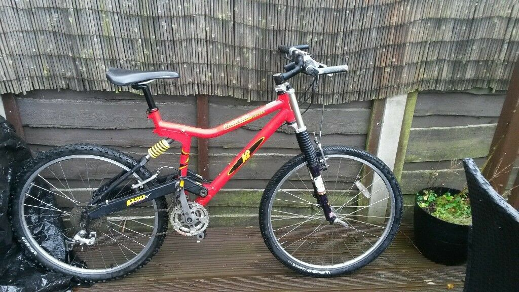 Retro Pro Flex K2 1000 Full Suspension Mountain Bike In Newton
