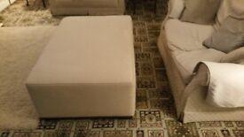 Sofa stool (Large) - 5 ftL x 3 ftW x 2 ftH