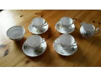 Colclough bone china teaset