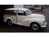 Morris Minor Traveller - White