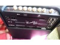 Fender Rumble 100 v3 Bass Guitar Amp