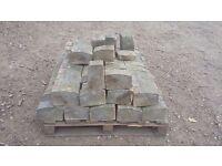block paving edging kerbs ( key kerbs) grey x 100