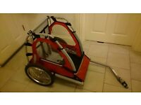 Halfords Single Buggy Bike Trailer - as new