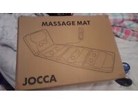 Jocca heat therapy massage mat