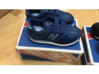 Two pairs brand new new balance baby trainers normally £35 each unwanted gift for my son
