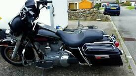 Harley davidson electraglide, bagger, 2007,