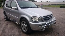 Mercedes ML 400 V8 CDI LEFT HAND DRIVE AUTOMATIC LOW MILEAGE